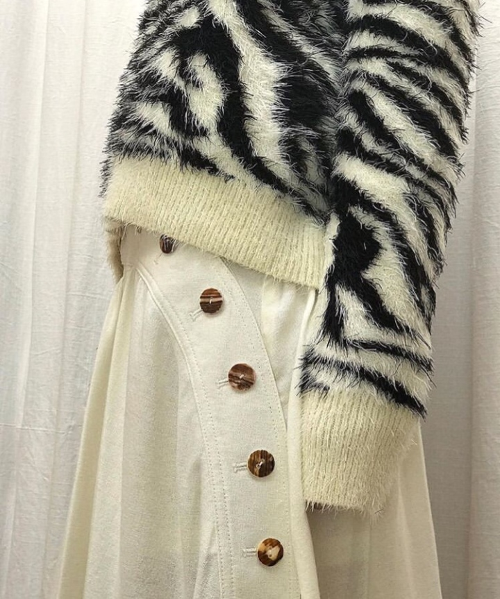 House of Sunny Animal Print Sweater